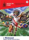 アイアン・メイデンのマスコット エディがラグビー選手に、英ラグビー・チームのパンフレット表紙に登場