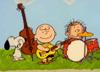 スヌーピーやチャーリー・ブラウンらがピンク・フロイド「Echoes」を演奏しているように仕上げたマシュアップ映像が公開