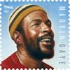 Marvin Gaye Stamp USPS Music Icons