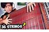 「世界でたった一つの36弦ベースギターを演奏してみた」映像が話題に