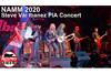 スティーヴ・ヴァイ新ギターのリリースパーティーにジョー・サトリアーニ、ポール・ギルバート、ニタ・ストラウスら参加、映像がネットに
