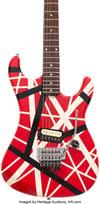 エディ・ヴァン・ヘイレンのギターは550万円、カーク・ハメットが「One」MVで演奏したギターは1230万円で落札