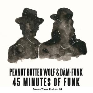 Stones Throwレーベルが45分のファンク・ミックス音源を2つ公開、ピーナッツ・バター・ウルフとDam-Funkがミックス