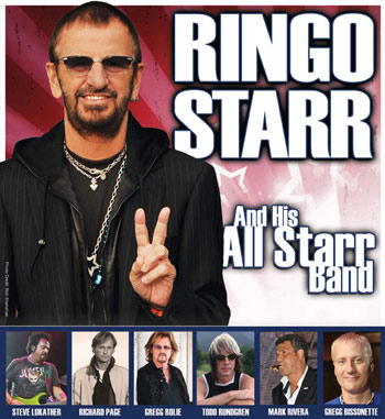 RINGO STARR & HIS 13th ALL STARR BAND