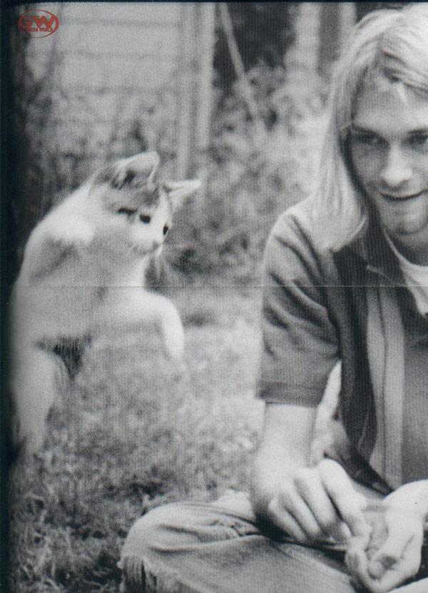 Kurt Cobain & Cat