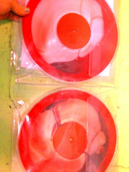 The Flaming Lips and Heady Fwends - Blood Vinyl