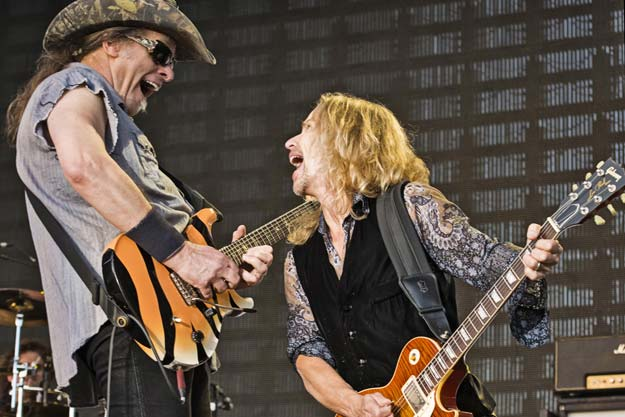 Tommy Shaw and Ted Nugent
