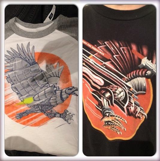 Gap T-Shirt and Judas Priest