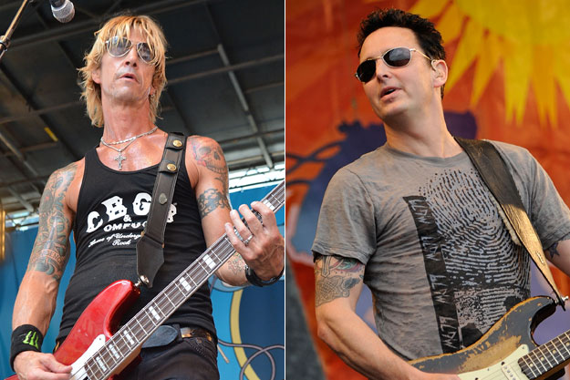 Duff McKagan + Mike McCready
