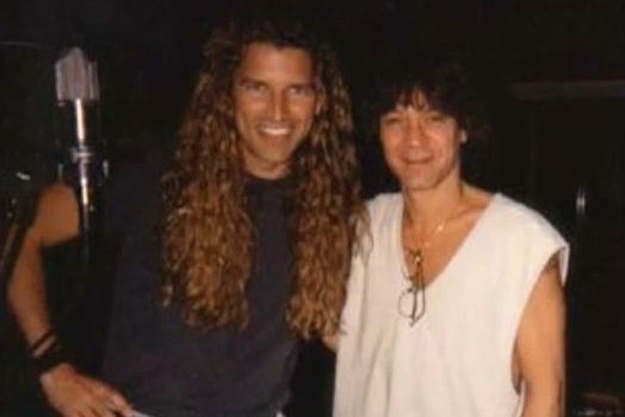 Mitch Malloy with Van Halen
