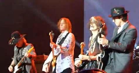 Aerosmith and Izzy Stradlin