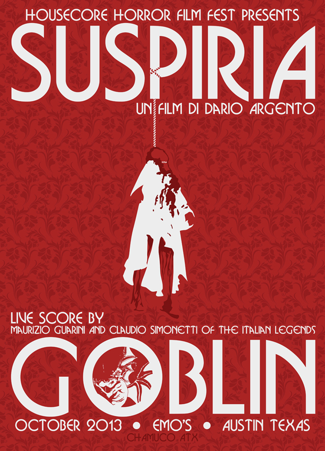 Goblin to Perform Live Score of Suspiria - Housecore Horror Film Festival