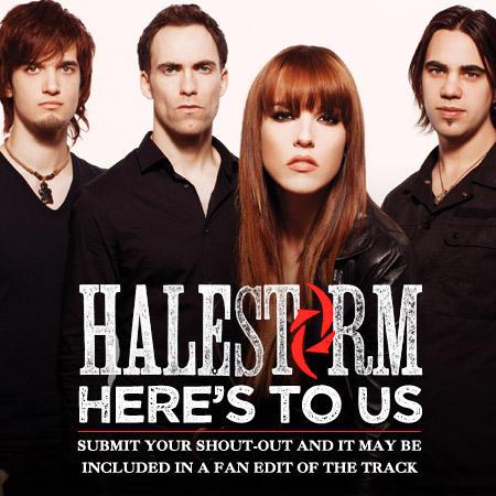 Halestorm / Here's To Us