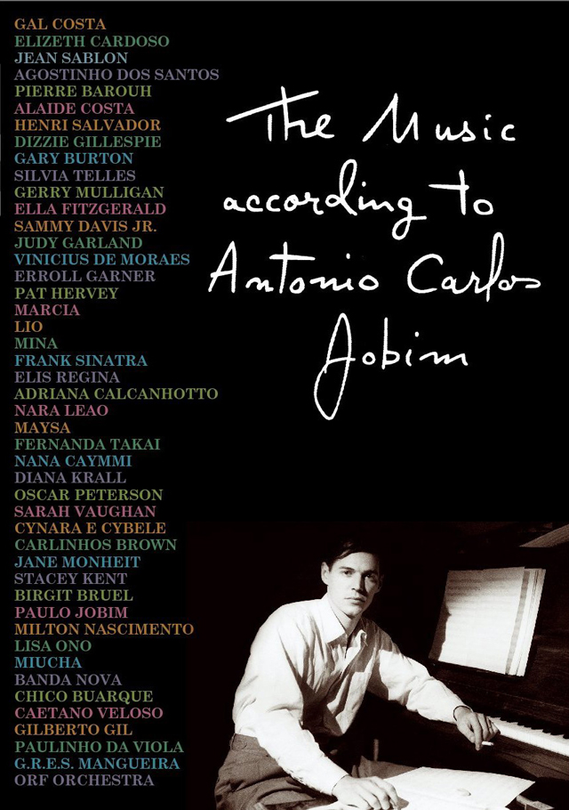 THE MUSIC ACCORDING TO ANTONIO CARLOS JOBIM