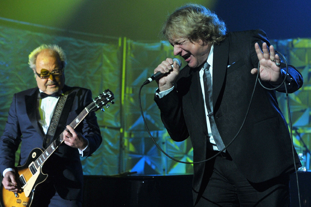 Foreigner's Mick Jones and Lou Gramm