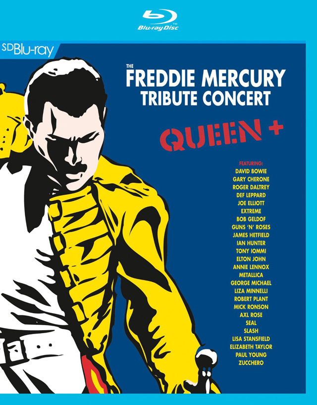 VA / The Freddie Mercury Tribute Concert [Blu-ray]