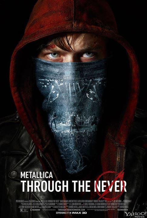メタリカの3D映画『Metallica Through the Never』、新たな予告編映像が公開