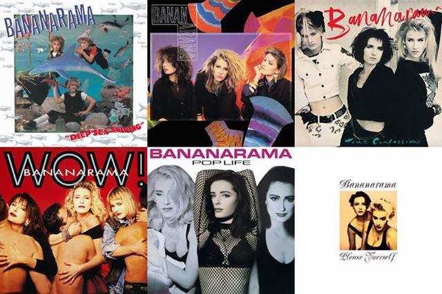 Bananarama first six albums