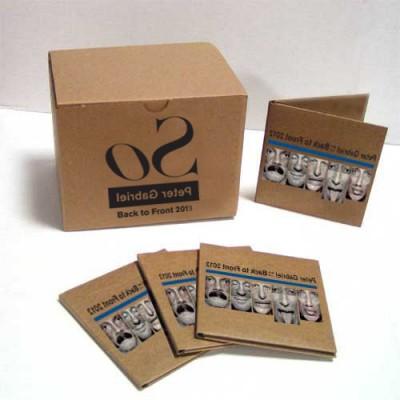 Peter Gabriel / Back to Front Tour 2013 Encore series - Collectors Box Set