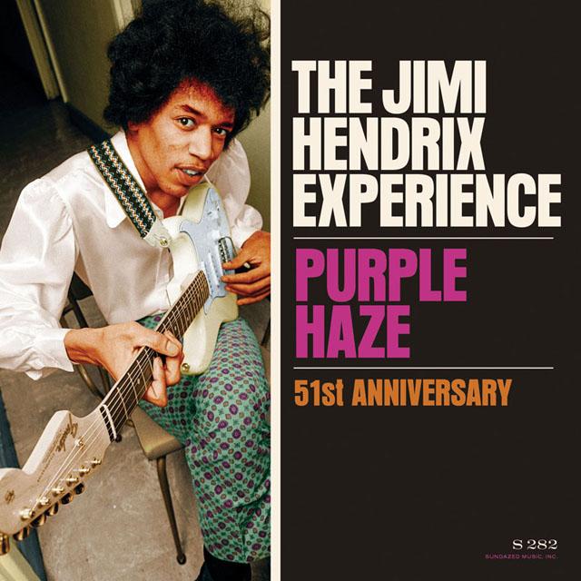 "Jimi Hendrix Experience / Purple Haze b/w 51st Anniversary - 7""Single"