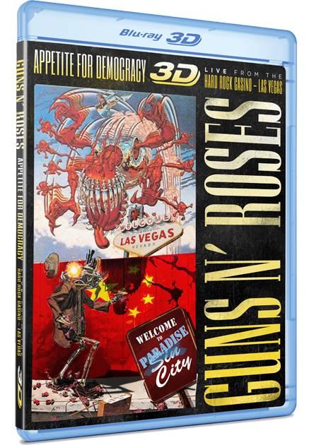 Guns N' Roses / Appetite For Democracy [3D Blu-ray]
