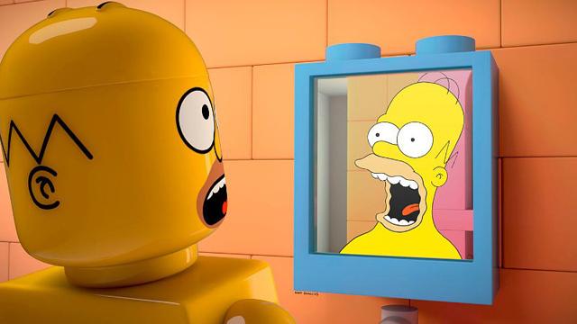米アニメ『ザ・シンプソンズ』で登場人物が全員LEGOになる最新エピソードのトレーラー映像が公開