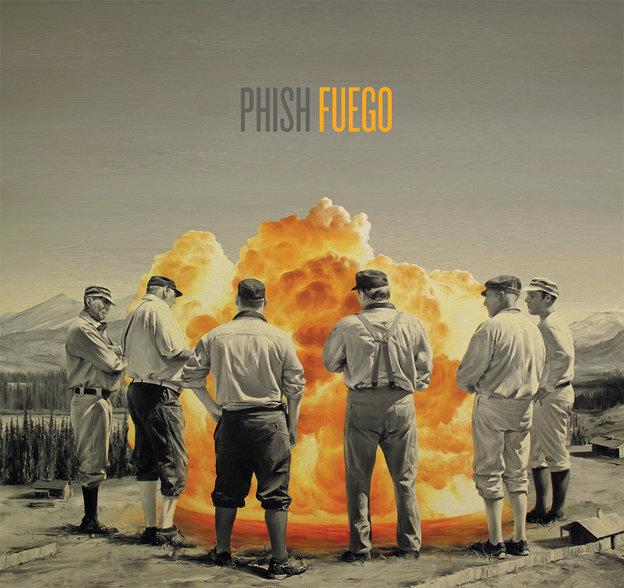 フィッシュが5年ぶりの新作『Fuego』を6月発売、「Waiting All Night」が試聴可