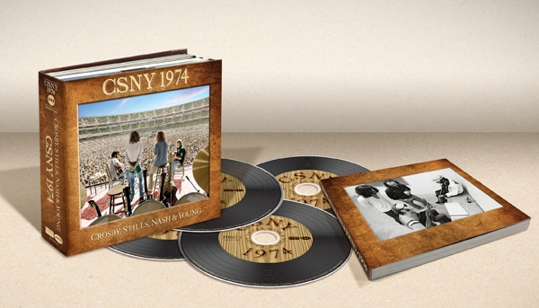 Crosby, Stills, Nash and Young / CSNY 1974 [3CD+DVD]