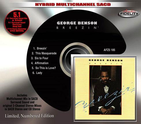 ジョージ・ベンソン『Breezin'』がハイブリッド・マルチチャンネルSA-CD再発