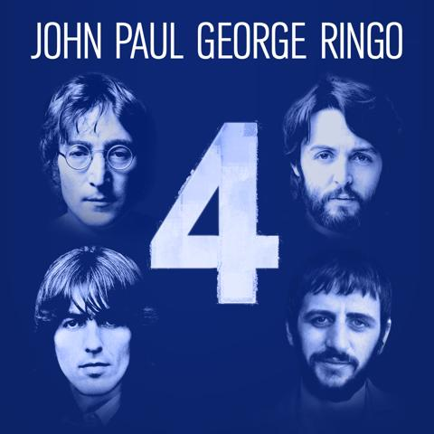 VARIOUS / 4: John Paul George Ringo - EP