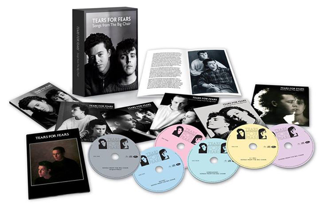 Tears for Fears / Songs from the Big Chair [4CD+2DVD/ Super Deluxe Edition]
