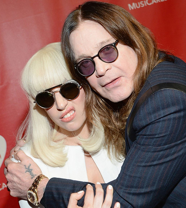 Lady GaGa and Ozzy Osbourne