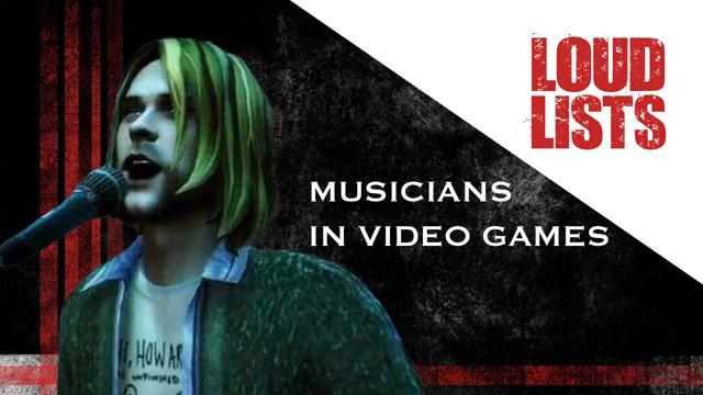 「TVゲームにカメオ登場したロック&メタル・ミュージシャン 10選」のビデオを米サイトLoudwireが公開