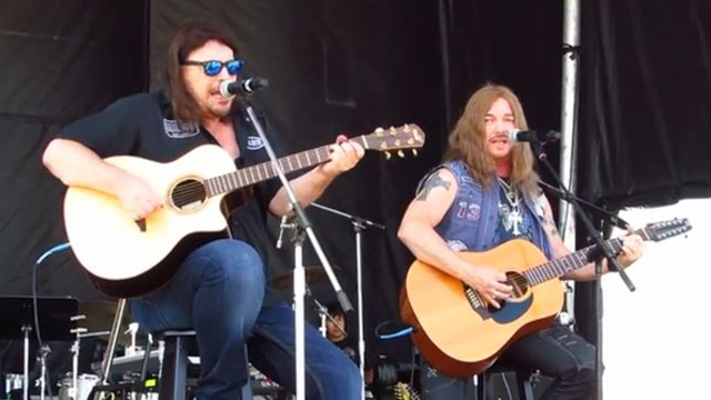 Don Dokken and Mark Boals