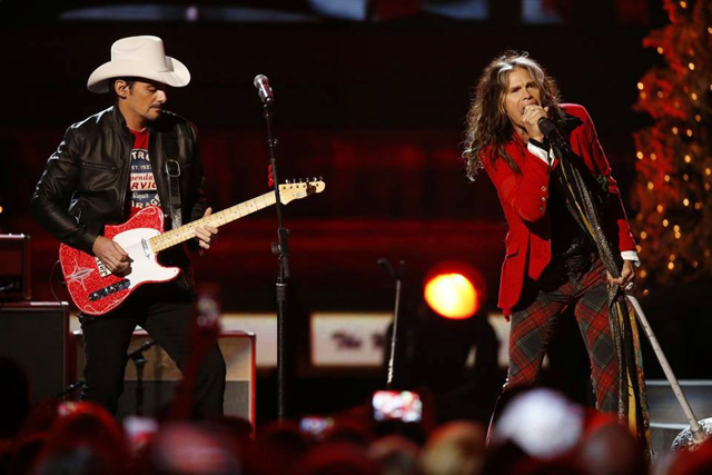 Steven Tyler and Brad Paisley