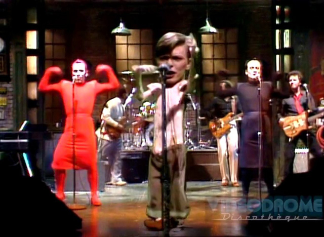 David Bowie - Saturday Night Live 1979
