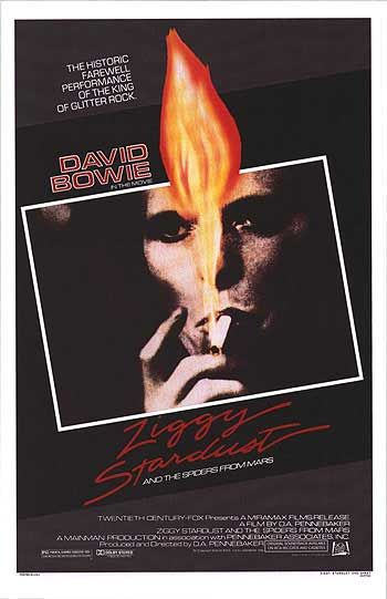 David Bowie / Ziggy Stardust and the Spiders from Mars: The Motion Picture