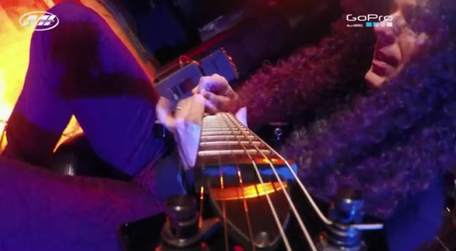 Marty Friedman Gopro Cam