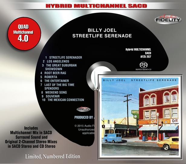 ビリー・ジョエルの『Streetlife Serenade』がハイブリッドSACD再発