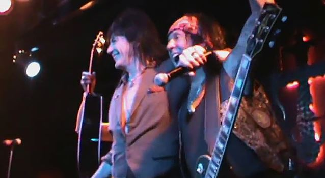 Phil Lewis and Tracii Guns