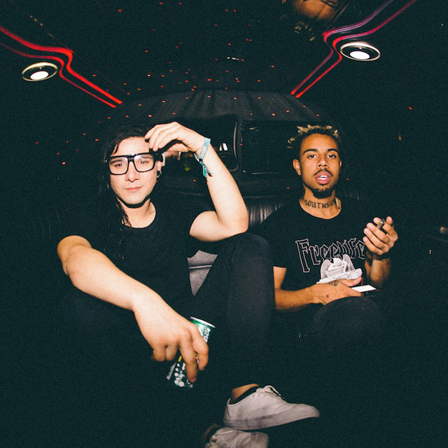 Skrillex and Vic Mensa