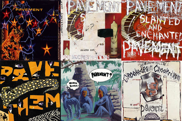 Pavement Albums