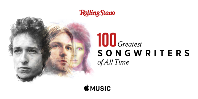 100 Greatest Songwriters of All Time - Rolling Stone
