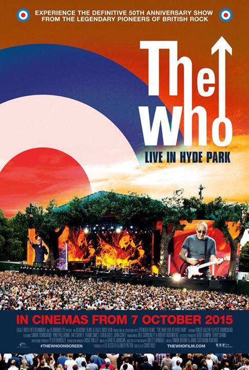 ザ・フーのコンサート・フィルム『The Who Live in Hyde Park』 日本劇場上映のトレーラー映像が公開