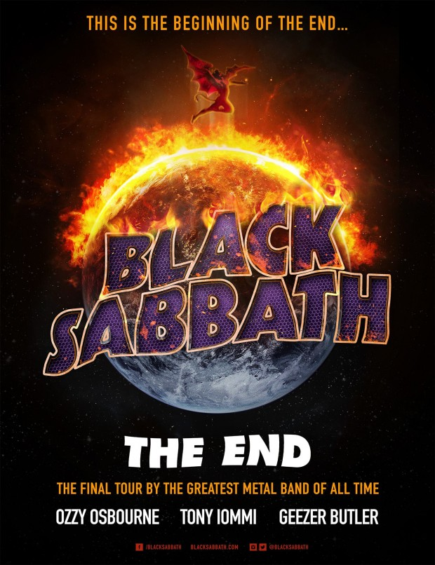 BLACK SABBATH THE END TOUR 2016
