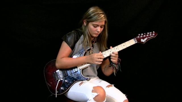 16歳の技巧派女性ギタリストTina Sが新カヴァー演奏ビデオを公開、今回はジェイソン・ベッカーの「Altitude」