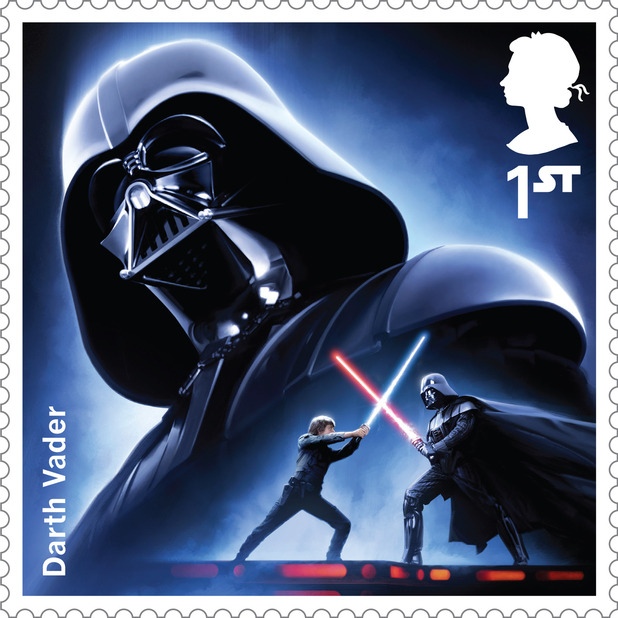 The Star Wars Stamp Collection -  Darth Vader