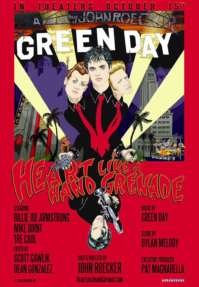 Green Day / Heart Like A Hand Grenade