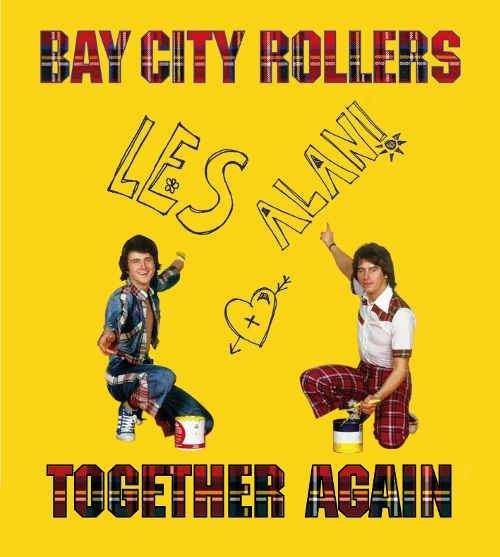 Bay City Rollers starring Les McKeown and Alan Longmuir