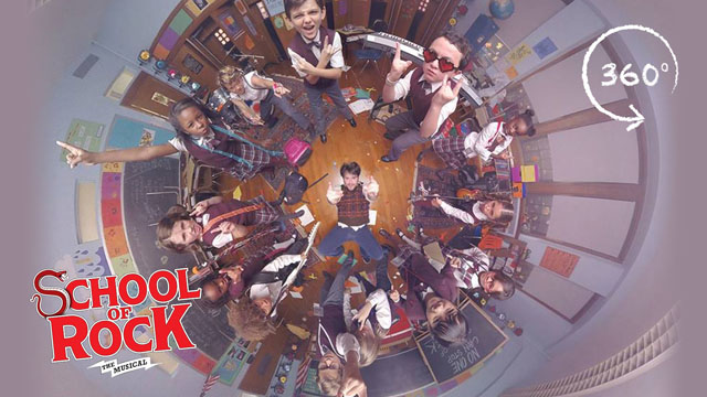 """SCHOOL OF ROCK: The Musical – """"You're in the Band"""" (360 Video)"""